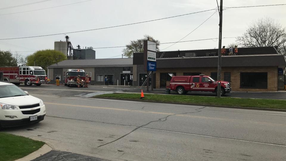 Lambton County fire