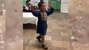 Trending: Dancing to celebrate a new leg