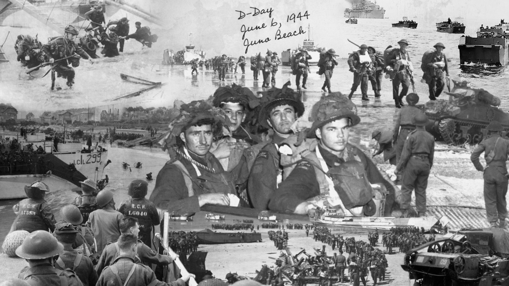 D-Day postcards