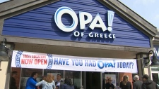 calgary, opa! of greece, kitchen, food, cuisine, s