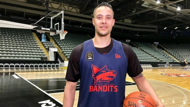 Joel Friesen, of the Fraser Valley Bandits, is seen on May 9, 2019. (Gary Rutherford / CTV News Vancouver)
