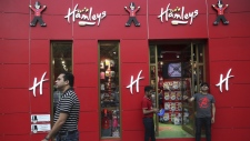 Hamleys store in New Delhi, India