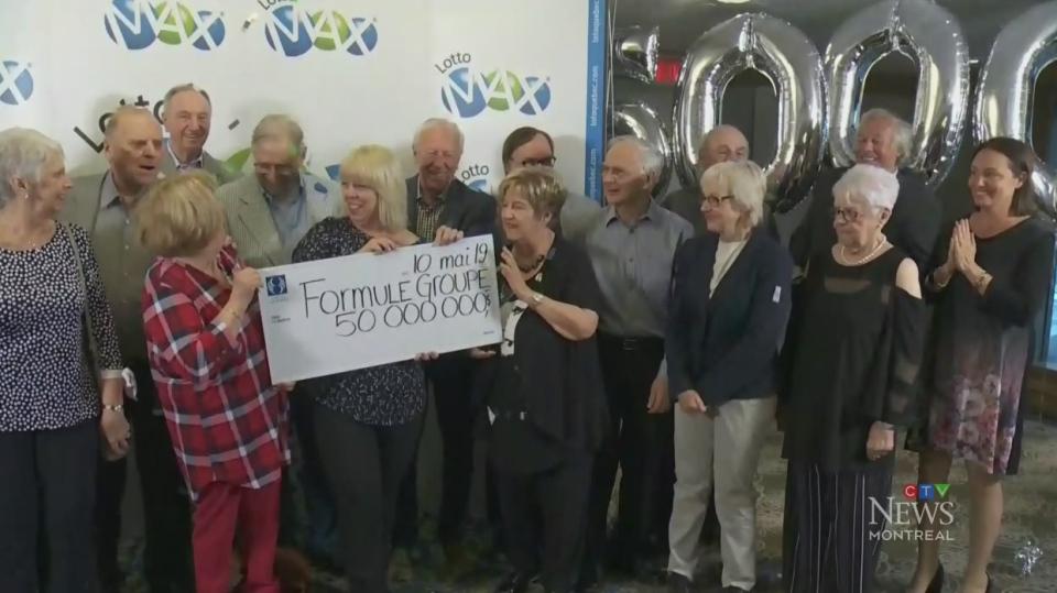 Lottery winners pick up $50M prize