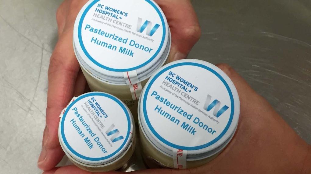 milk bank BC Women's Hospital