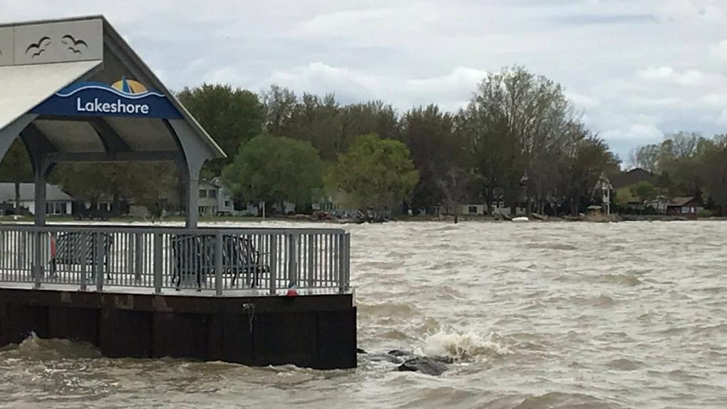 Lakeshore dock