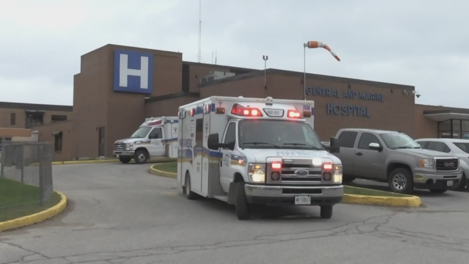 Collingwood's General and Marine Hospital on Fri., May 10, 2019 (CTV News/Roger Klein)