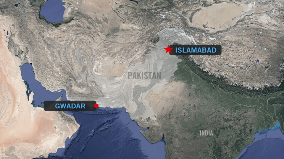 Four armed insurgents attacked a luxury hotel in the southwestern coastal town of Gwadar on Saturday, May 11, 2019.