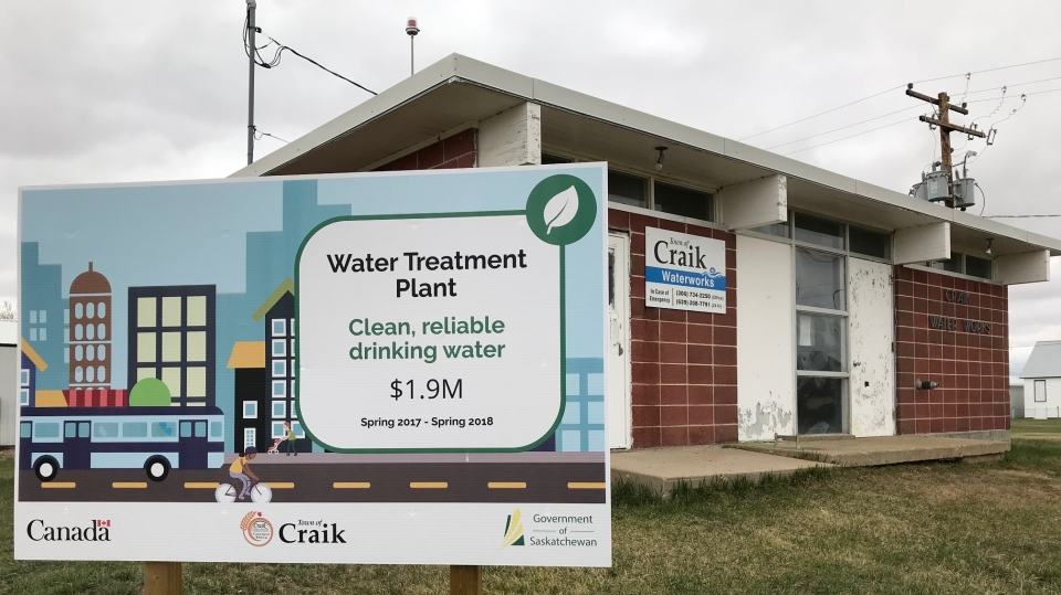 The Town of Craik celebrated the opening of its upgraded water treatment plant on Saturday, May 11, 2019.