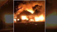 woolwich barn fire Wittick