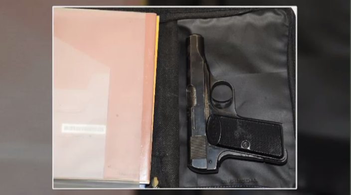 Gun recovered by police. (Courtesy: WRPS)