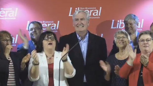 New N.B. Liberal leader Vickers announces vision for province