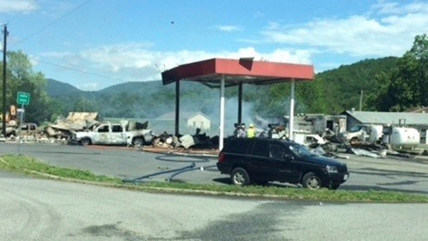 Three dead in explosion at gas station in Buena Vista, Va.