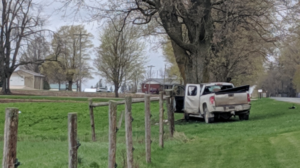 Man killed in single-vehicle crash near Listowel identified