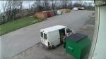 Caught on camera dumping garbage