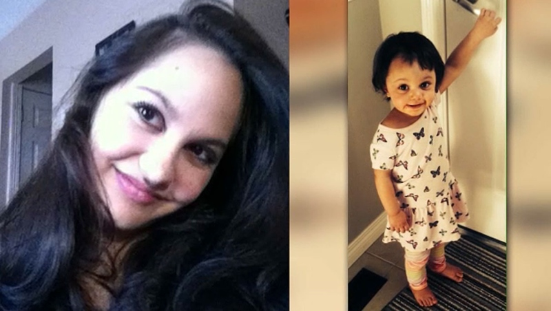 The bodies of Calgarian Jasmine Lovett and her 22-month-old daughter Aliyah Sanderson were located in Kananaskis Country in May 2019. (supplied images)
