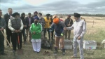 Sikh community planting 550 trees