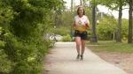 Local runner trains for D-Day marathon