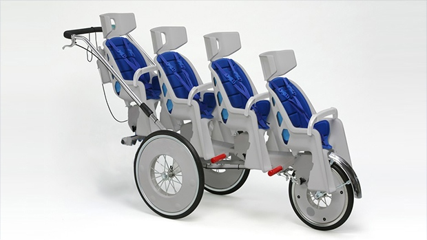 Four-seater stroller