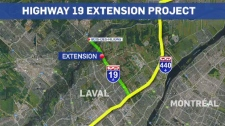 Highway 19 extension