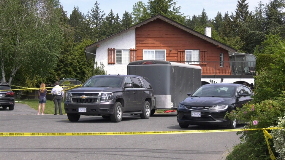 Police investigating murder in Central Saanich.