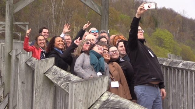 Concierges from the Greater Toronto Area tour Huron County, Ont. on Monday, May 13, 2019. (Scott Miller / CTV London)