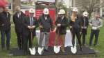 Ground-breaking for Huron at Western building