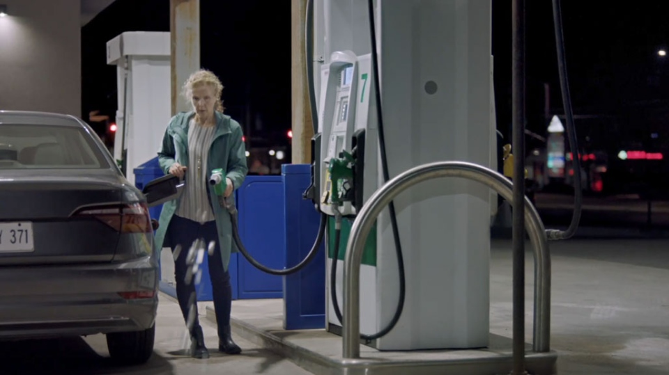 A screenshot of the PC government's new anti-carbon tax advertisement is seen in this photograph. (Ontario government)