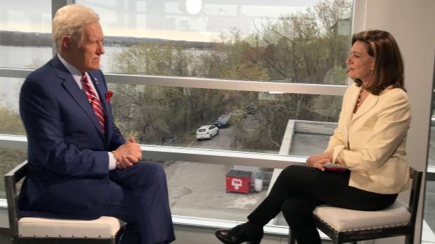 Alex Trebek speaks one-on-one with Lisa LaFlamme
