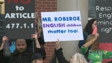 parent protest