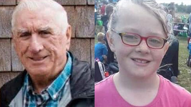 Joseph Doyle and his great-granddaughter, Chloe Burke, were reported missing on Monday, May 13, 2019. (Miramichi Police Force)