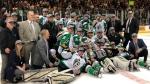 The Prince Albert Raiders won their first WHL championship since 1985 on Monday. (Blair Farthing/CTV Saskatoon)