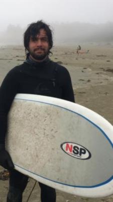Missing surfer