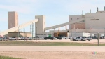 Overnight fire at Allan potash mine