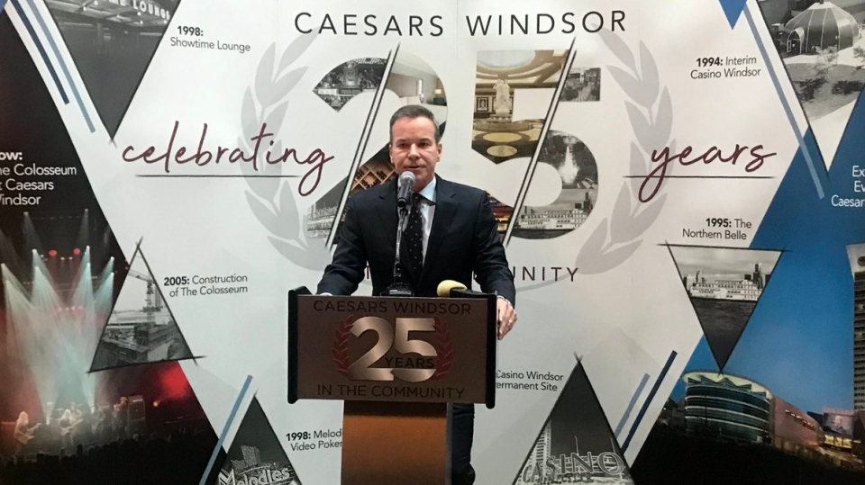 Caesar Windsor regional president Kevin Laforet in Windsor, Ont., on Tuesday, May 14, 2019. (Kevin Laforet / CTV Windsor)