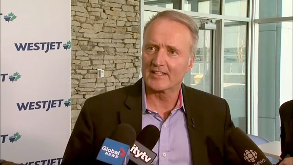 WestJet CEO Ed Sims