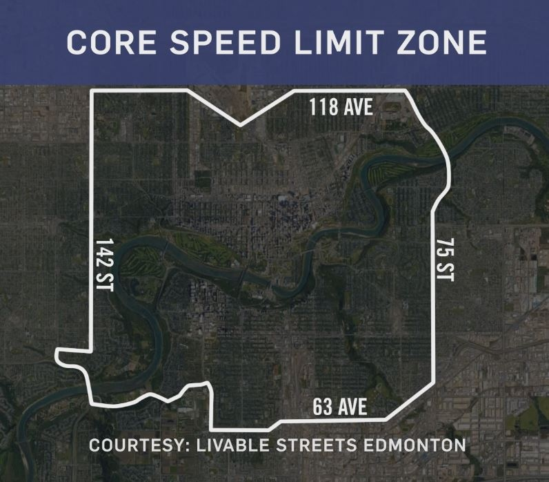 Councillors voted 7-6 in favour to reduce the default speed limit on Edmonton's core zone to 30 km/h.