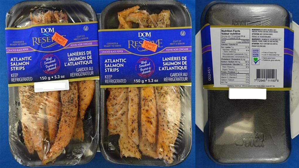 Salmon recall