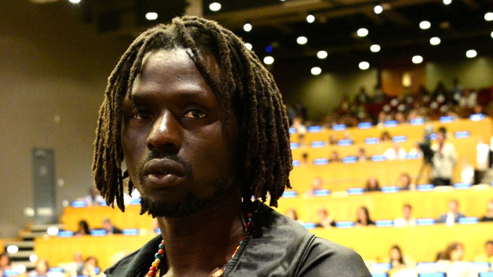 Emmanuel Jal was conscripted into the Sudanese civil war at the age of seven.