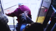 Disturbing video of elderly man shoved from bus