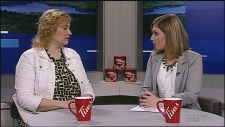 CTV Northern Ontario's Jessica Gosselin talks to Natalie Labbee of Sudbury's MS Society about an upcoming fundraiser and a recent theft.