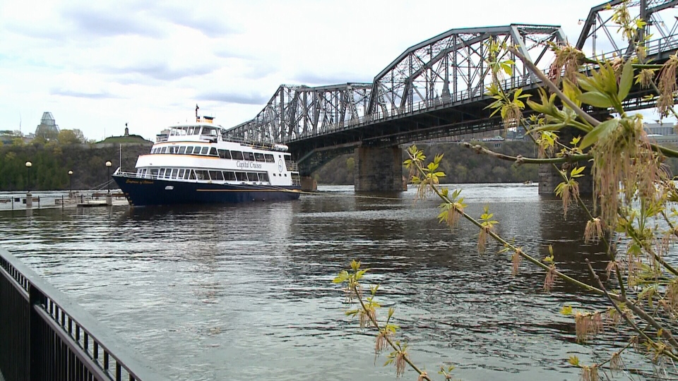 Capital Cruises waiting for river levels to recede