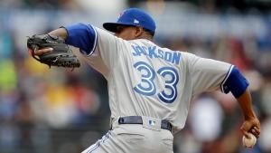 Toronto Blue Jays pitcher Edwin Jackson