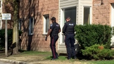 Barrie police weapons call