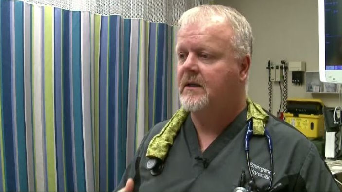 """We have a problem now,"" Dr. Graeme Young said. ""We've had a problem for years, it's just come to a head now. As we get so busy, we just don't have the number of people to provide the care."""