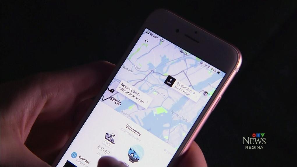 Uber cruises into Regina