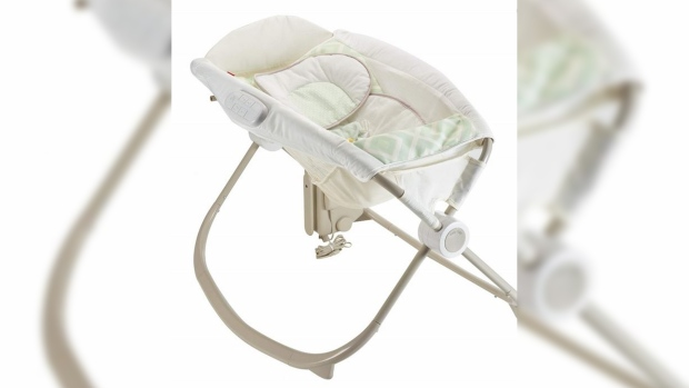 Rock 'n Play baby sleeper recall
