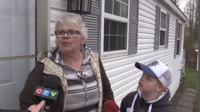 """""""It's scary because this is a really quiet neighbourhood,"""" Yvonne Poirier said. """"Friendly people here and everything."""""""