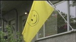 Sawatsky Sign-Off- The Happy-Face Flag