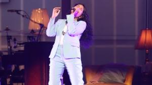 Singer Alessia Cara performs at Caesars Windsor on Wednesday, May 15, 2019. (Melanie Borrelli / CTV Windsor)