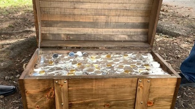 Officials with Gold Hunt say Calgary's prize has been found. (Photo: GoldHunt)